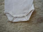 Cosilana Body aus Baumwolle/Wolle/Seide - Kurzarm